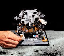 Watch Us Build LEGO's Apollo 11 Lunar Lander Kit