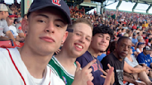 The Good Sport: Three friends use spare ticket to take homeless man to Red Sox game