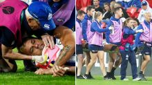 'Terrible scenes': Young gun's injury rocks AFL fans