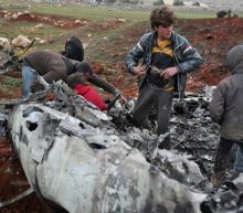 Syrian chopper downed over rebel area, killing crew