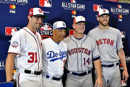 Major League Baseball notebook: Scherzer, Sale announced as All-Star starters