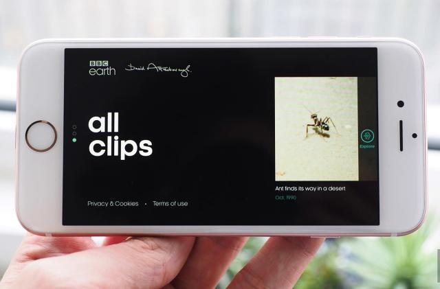 New BBC app highlights the best of David Attenborough