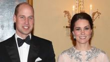 Kate Middleton Stuns in Maternity Gown
