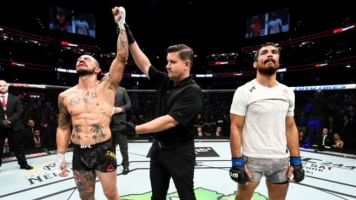 Swanson, Gracie take Fight of the Night at UFC Tampa