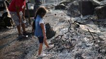 Oregon wildfires: Half a million people flee dozens of infernos