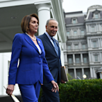 President Trump Has 'Meltdown' At Pelosi