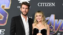 Family Date Night! Liam Hemsworth Hits the   Avengers Premiere with Brothers, Wife Miley Cyrus
