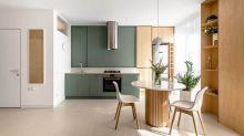 430呎蝸居的無印風簡約設計,以靈活裝潢迎合現代生活