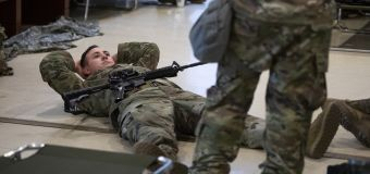 Guard troops allowed to rest inside Capitol after outcry