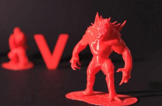 Print your own 3D Evolve figures