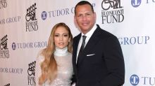 Jennifer Lopez Shimmers During Glam Date Night With Alex Rodriguez