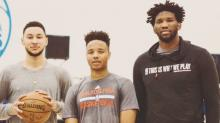 76ers don't anticipate minutes restrictions for Embiid, Simmons and Fultz
