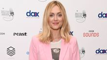 Fearne Cotton works out in these affordable tropical-print leggings