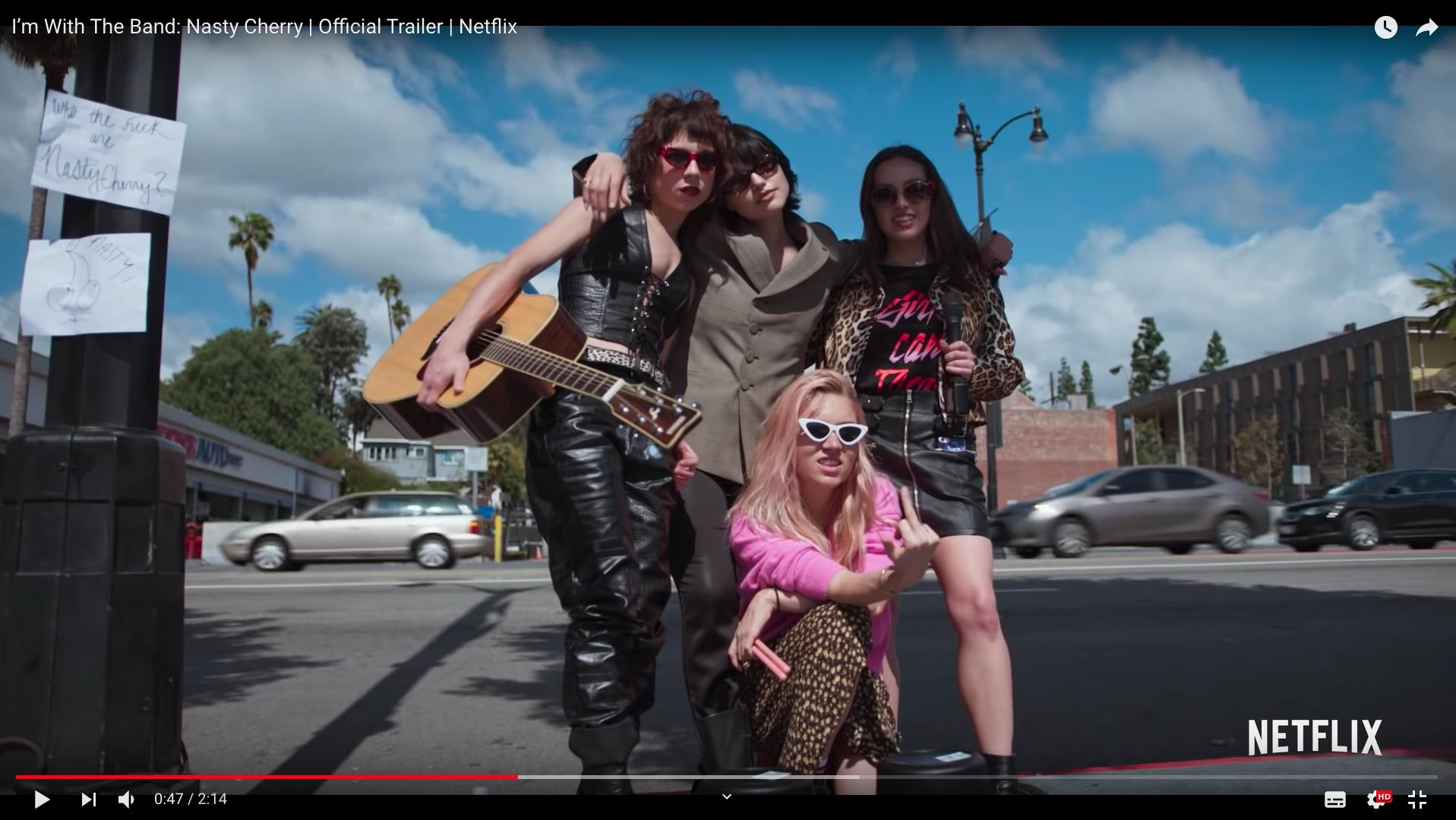 Netflix Releases Trailer for I'M WITH THE BAND: NASTY CHERRY