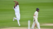Shannon Gabriel and Kemar Roach sign off with a grimace and a smile
