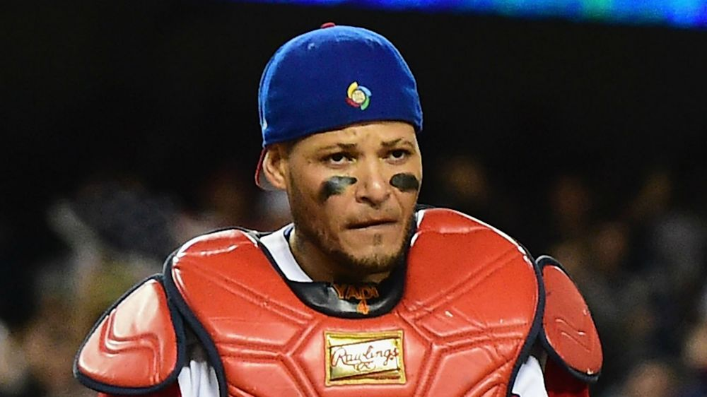 Yadier Molina expects apology from Adam Jones for comments about WBC party plans