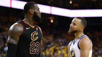 Curry explains Finals trash talk with LeBron
