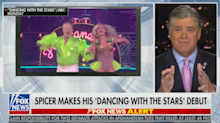 Hannity and the rest of cable news rip Sean Spicer's 'DWTS' wardrobe