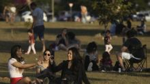 The Latest: After lockdown, cases up in Australian state