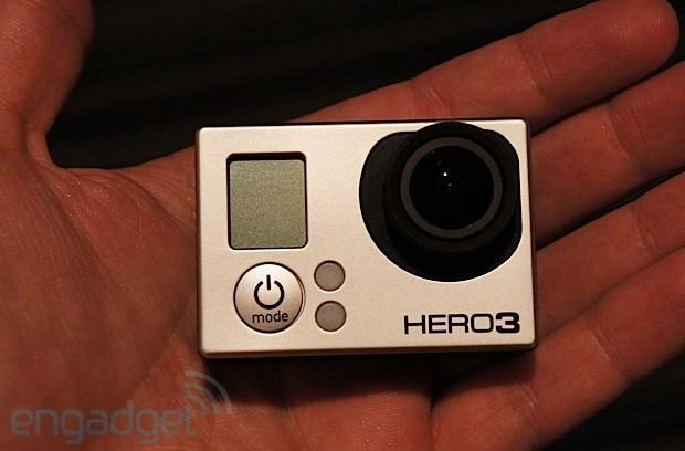 GoPro Hero3 action camera hands-on