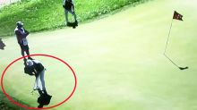'Worst of all time': Golfer's inexplicable blunder at US Open