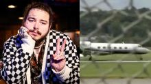 Post Malone is safe (and ready to party) following emergency plane landing