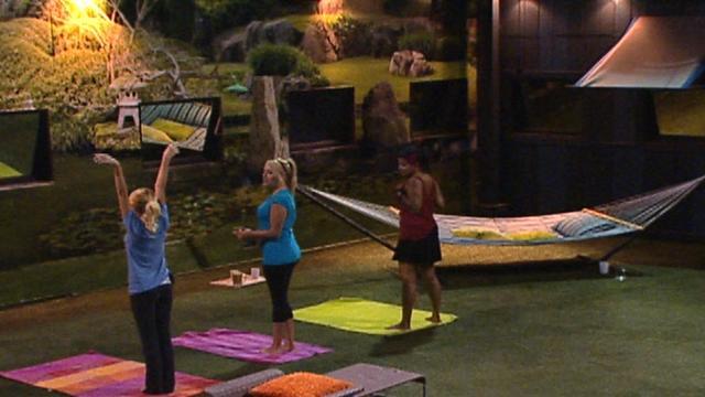 Big Brother - Feed Clip: Ashley's Yoga Class