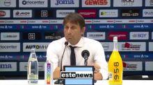 """Serie A, lo sfogo di Conte: """"La società non ci ha protetti abbastanza"""""""