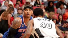 Phil Jackson and Carmelo Anthony's small war of words is not on hold