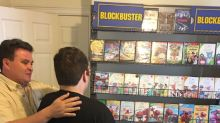 Family recreate Blockbuster for autistic son devastated after local video shop closed