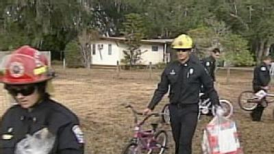 More Than 600 Kids Receive Gifts From Firefighters