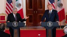 Trump e Obrador trocam elogios, ignorando tensões entre EUA e México