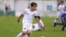 Destaque da base do Santos, meia de 14 anos treinará com o sub-17