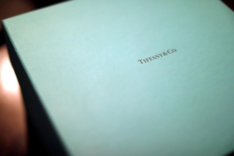 FILE PHOTO: A Tiffany & Co. box is pictured in Pasadena