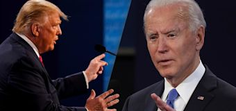 Trump and Biden battle over personal finances in debate
