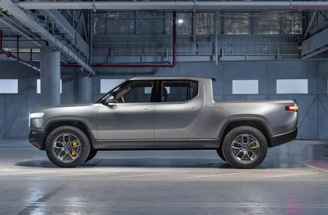 Amazon invests in electric truck-maker Rivian