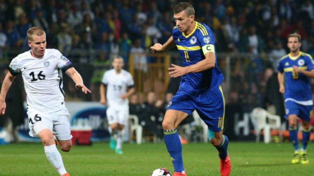 Bosnien: Edin Dzeko erzielt sein 50. Tor für die Nationalelf