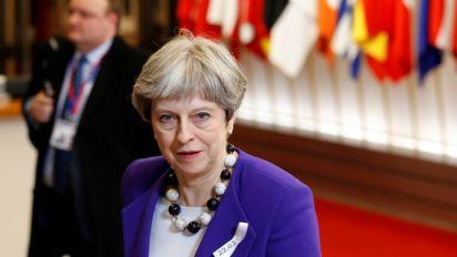 Britain, EU make significant progress in Brexit talks: May
