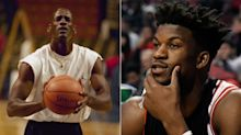 Jimmy Butler might try to be like Mike at the free throw line for a good cause