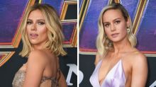 Scarlett Johansson, Brie Larson Wore The Infinity Stones To 'Endgame' Premiere