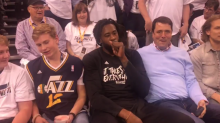 DeAndre Jordan got courtside tickets for Jazz-Clippers Game 6 ... wait, what?