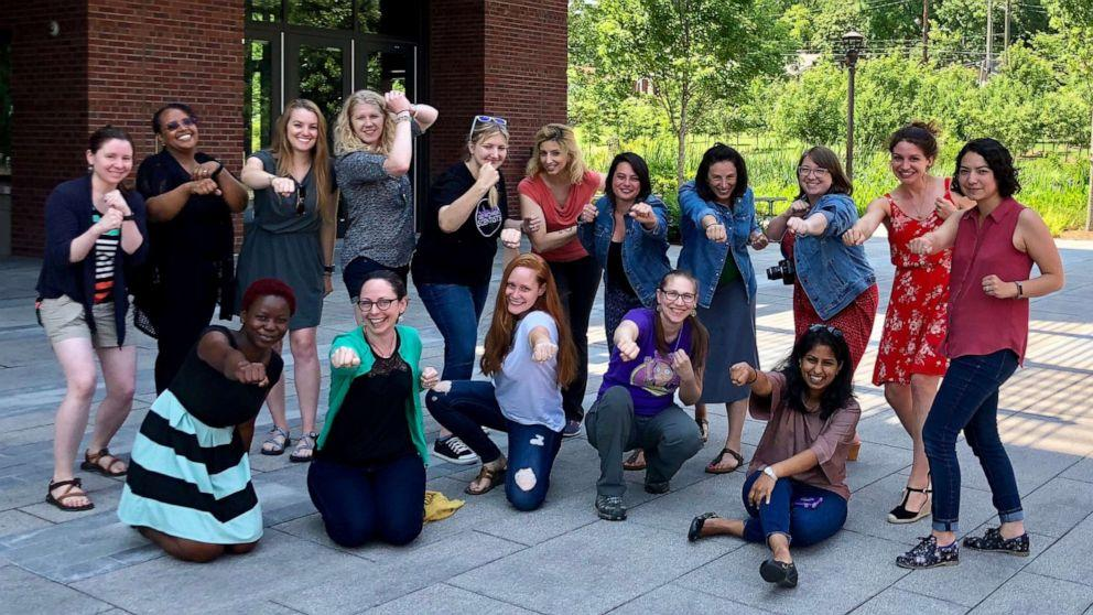 Female scientists start a database to showcase their work. Over 9,000 women join them