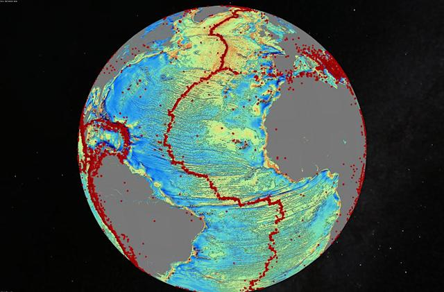 The Big Picture: Satellite imagery details ocean depths with new maps