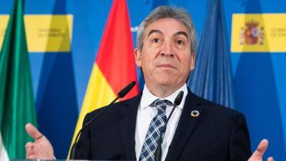 El delegado del Gobierno andaluz cree que lo mejor que podía pasar es que desapareciera VOX