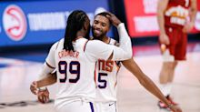 NBA title odds with Irving injured, Jokic's Nuggets out and Suns fired up