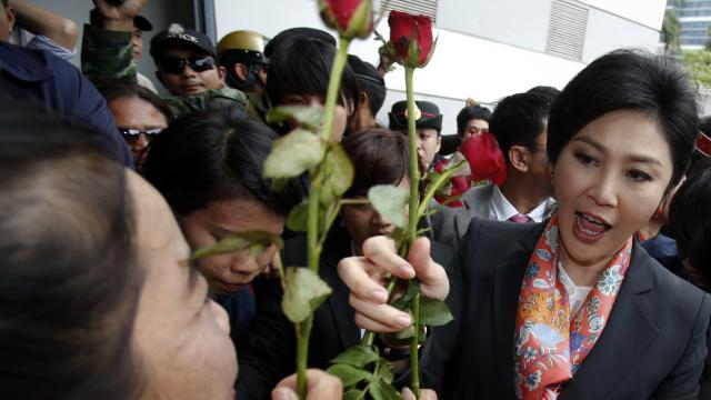Yingluck ordered to step down