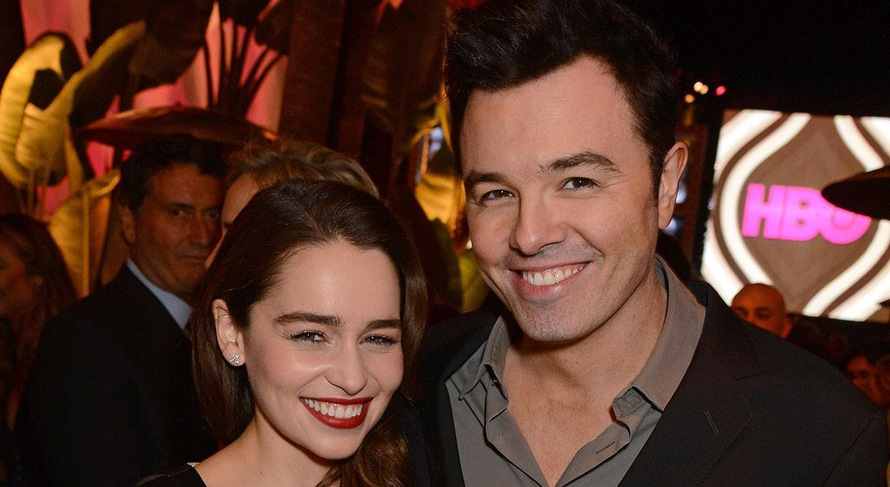 Emilia Clarke Speaks Out About Dating Seth MacFarlane