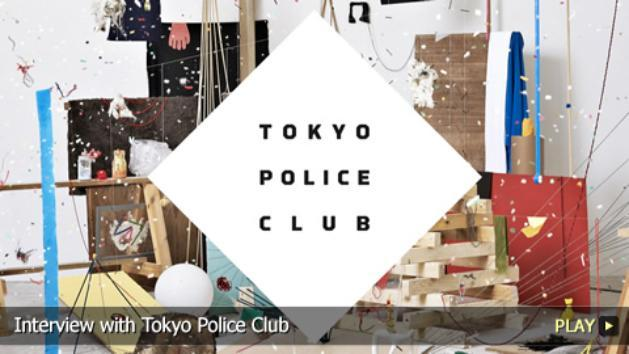 Interview with Tokyo Police Club