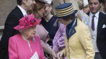 Isabel II celebra el cumpleaños de su hija Ana con un almuerzo privado