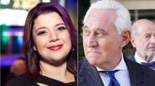 Ana Navarro Burns Roger Stone With Prison Farewell: 'Rot In Jail...Then In Hell'